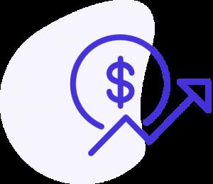 אייקון גרף הכנסות